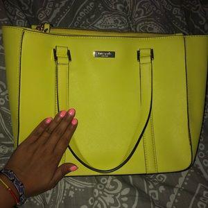 Kate Spade Yellow handbag!!